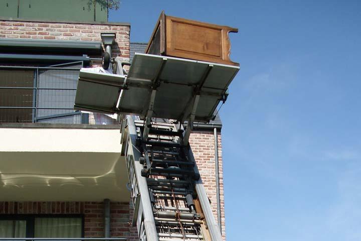 ladderlift huren prijzen